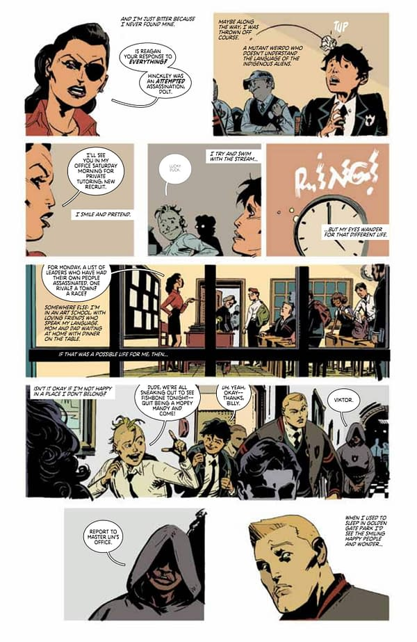 Preview of Deadly Class' Brand-New One Shot For Free Comic Book Day 2019