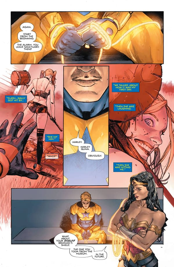 Barry Allen Swears By This Heroes In Crisis #4 Preview…