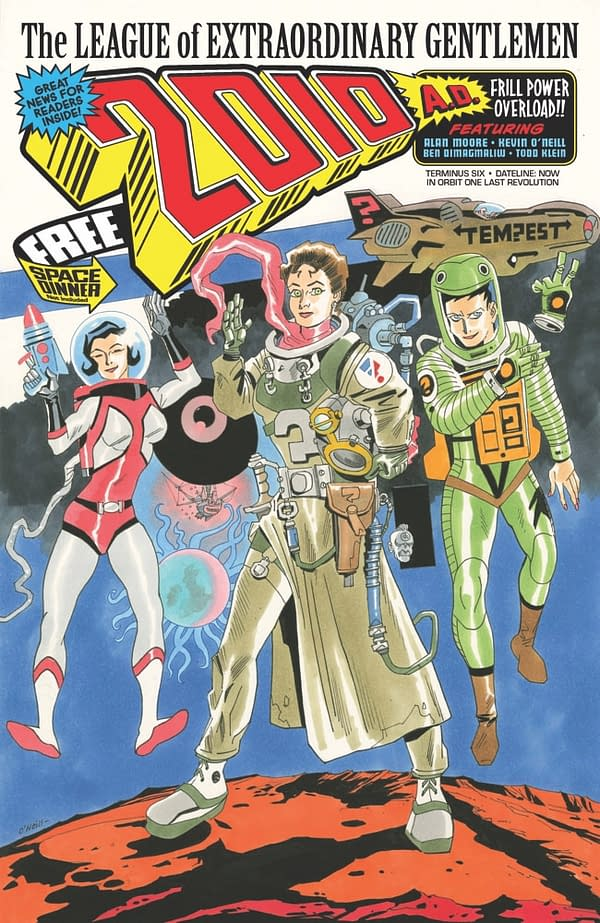 Alan Moore and Kevin O'Neill Do 2000AD for Final League of Extraordinary Gentlemen in April