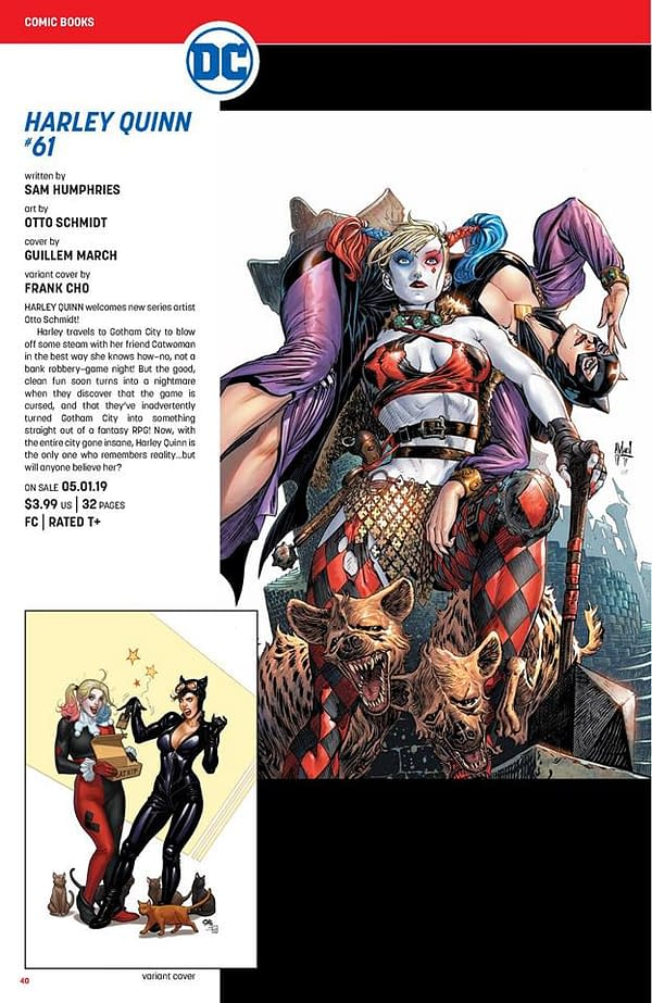 Full DC Comics May 2019 Catalog Solicits – From Year Of The Villain to The Last Knight On Earth (UPDATED)