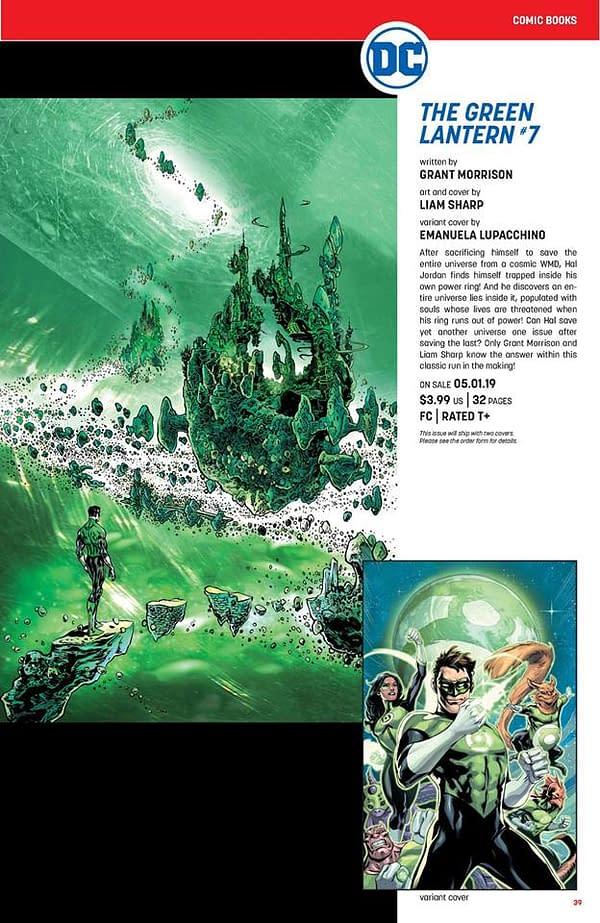 Will Grant Morrison Make Green Lantern's Power Ring the Soul Gem?