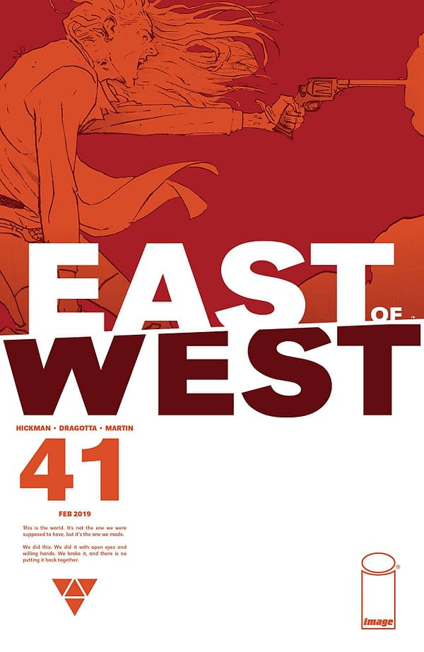 The End of Days Inches Closer with 'East of West' #41 (REVIEW)