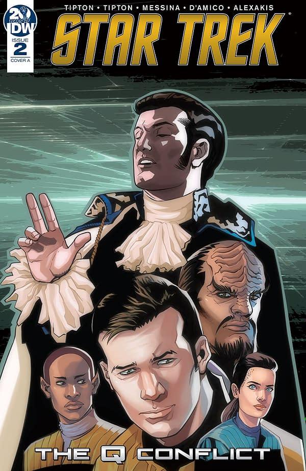 "Star Trek's Mightiest Heroes Face Off in ""Q Conflict"" #2 (REVIEW)"