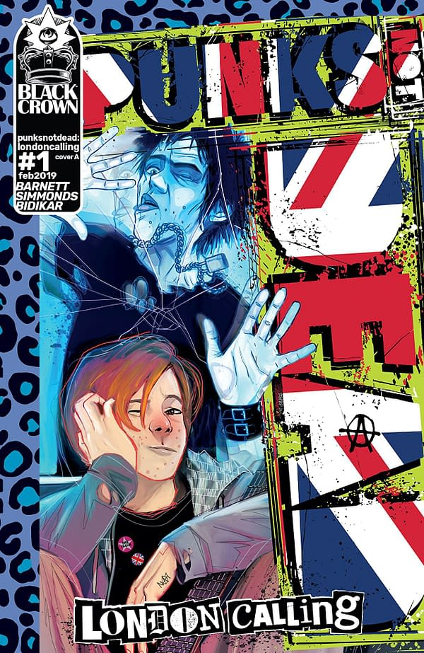 Witness the Power of Rock and Roll with Punks Not Dead: London Calling #1 (REVIEW)