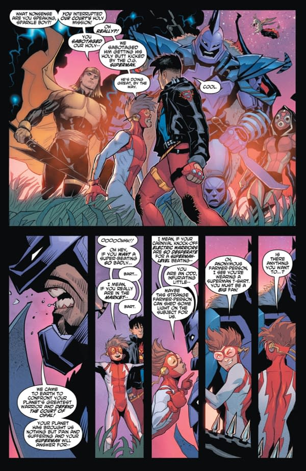 Connor Kent Superboy Bends the Knee to Tyranny in Young Justice #3 Preview