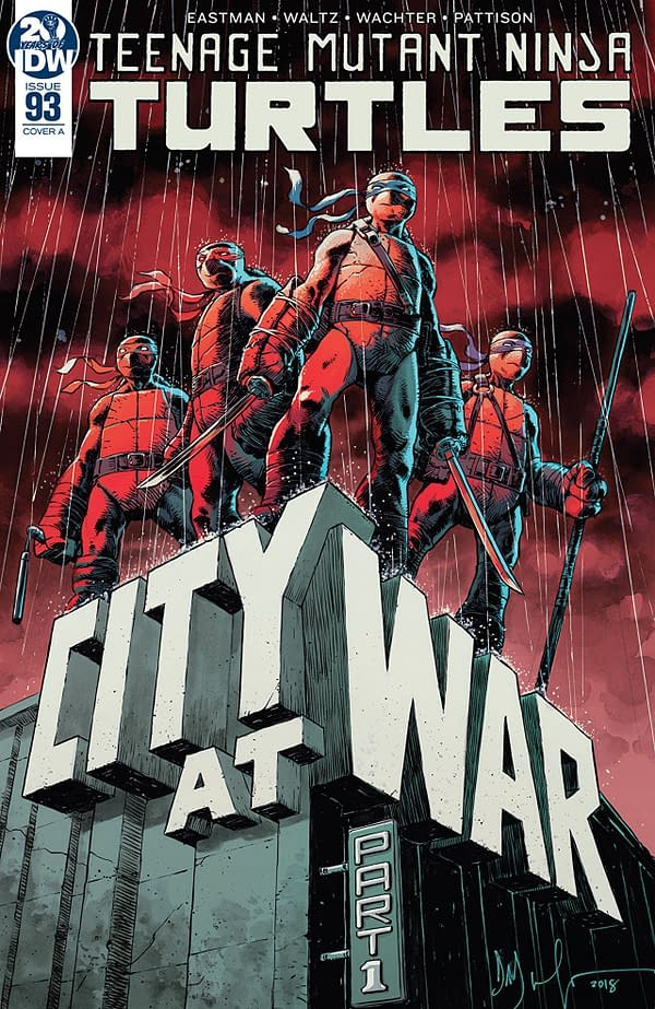 """'TMNT' Kicks off a """"City at War"""" with Issue 93"""