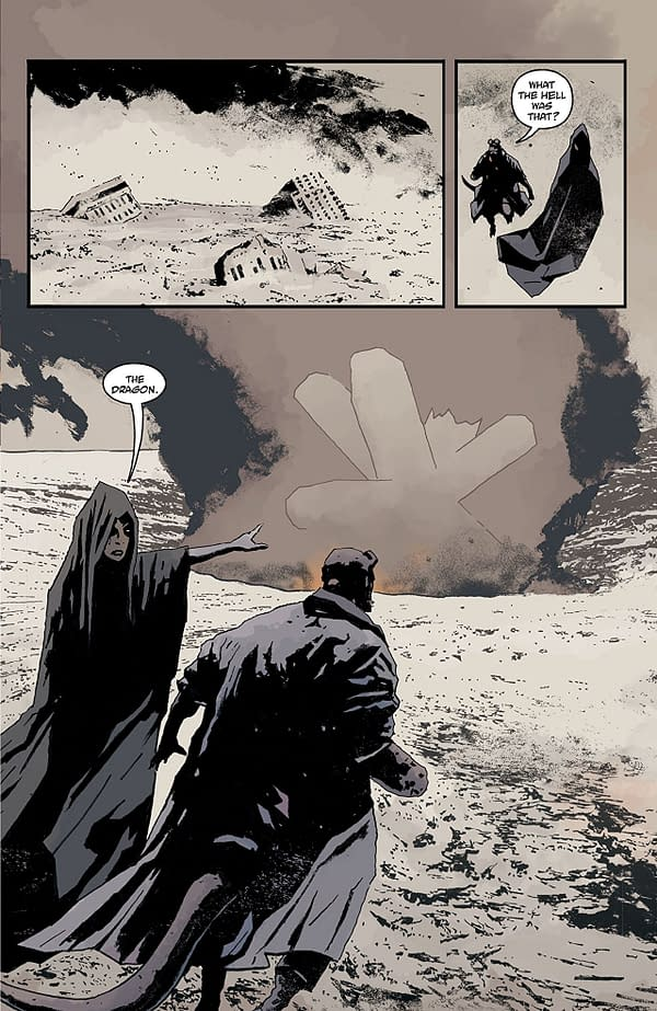It's the End of the World in 'B.P.R.D.: The Devil You Know #15', and I Feel Fine