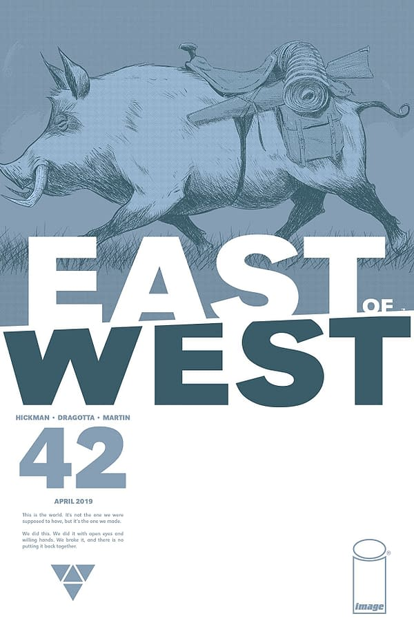 """One of the Great Mysteries of 'East of West"""" Revealed in Issue #42"""