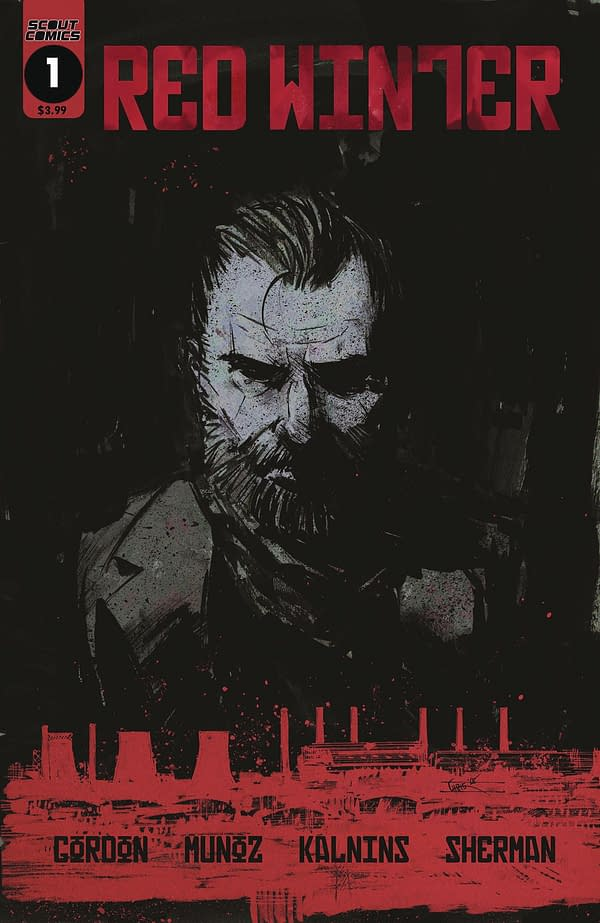 Michael Gordon and Francisco Munoz Launch Red Winter in Scout Comics' July 2019 Solicitations