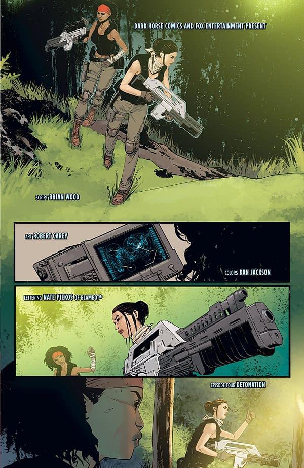 'Aliens: Resistance' #4 Explores the Nuclear Option