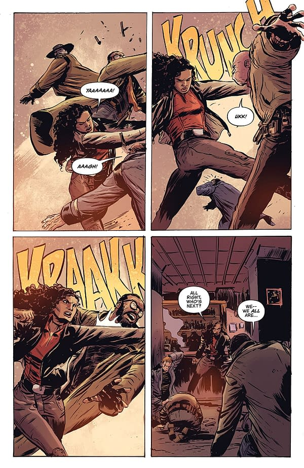 'Firefly' #6: Nice, Sketchy Visit with Great Old Friends