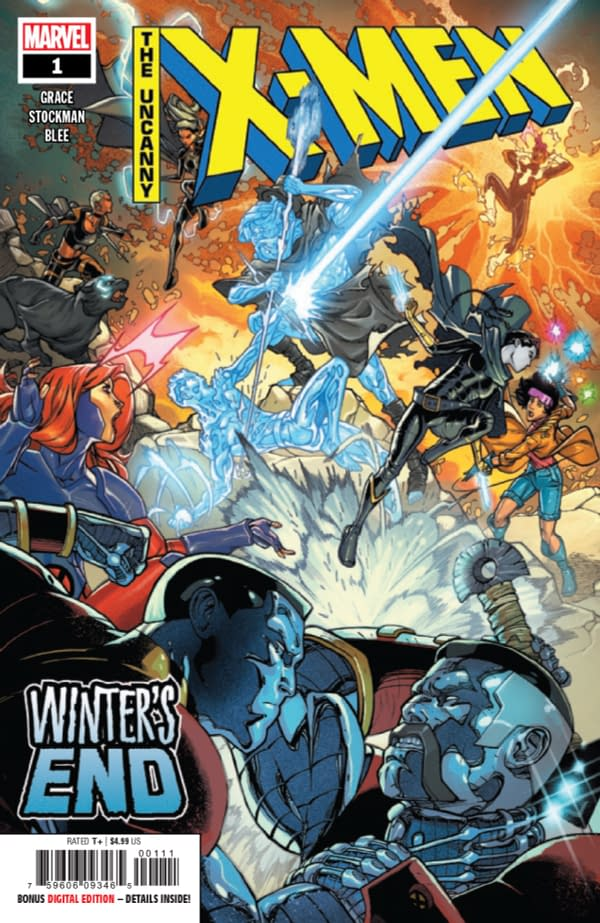 """Sina Grace on Writing Iceman at Marvel: """"I Was Surrounded by Cowards"""""""