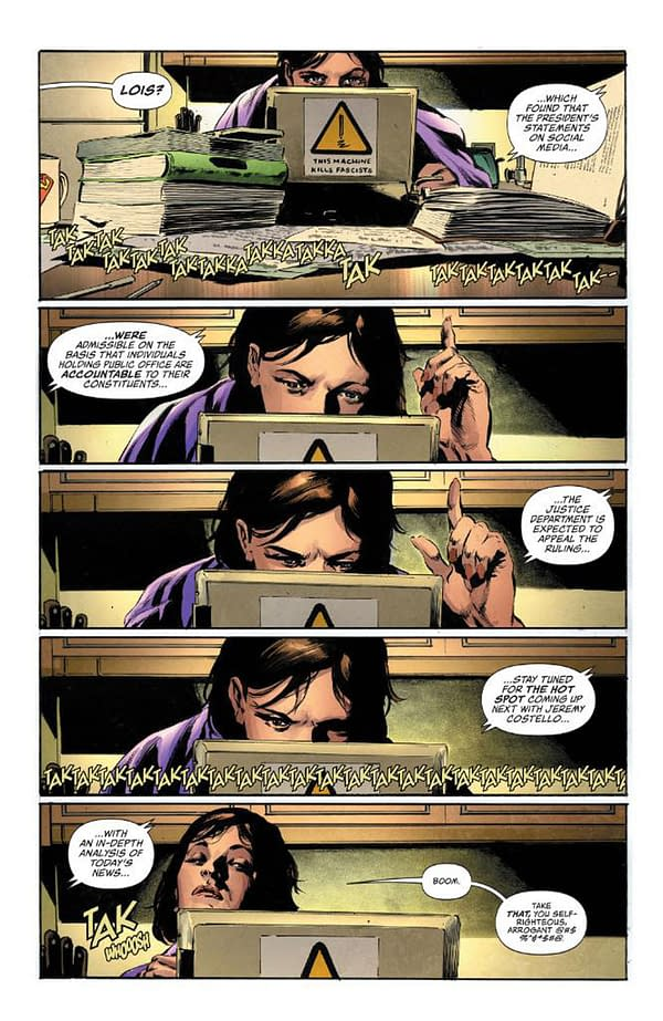 This Week - Lois Lane #1 Reflects Trump's White House Relationship With the Press (Spoilers)