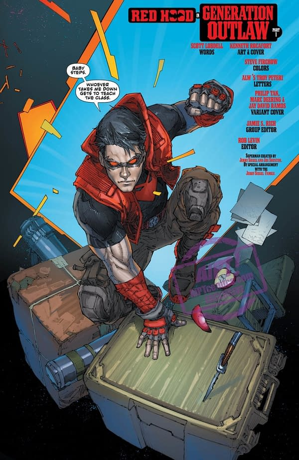 Red Hood: Outlaw #37 to Debut a New Non-Binary Superhero, DNA