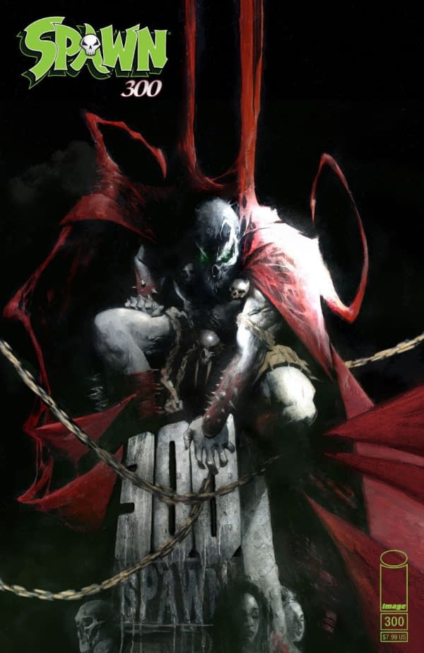 Image Reveals Jason Shawn Alexander's Cover for Spawn #300