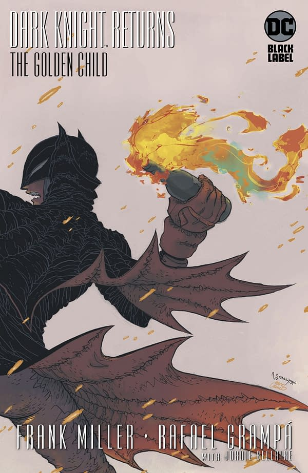 DC Comics Keep Rafael Grampa's Cover on Dark Knight Returns Despite Chinese Protests