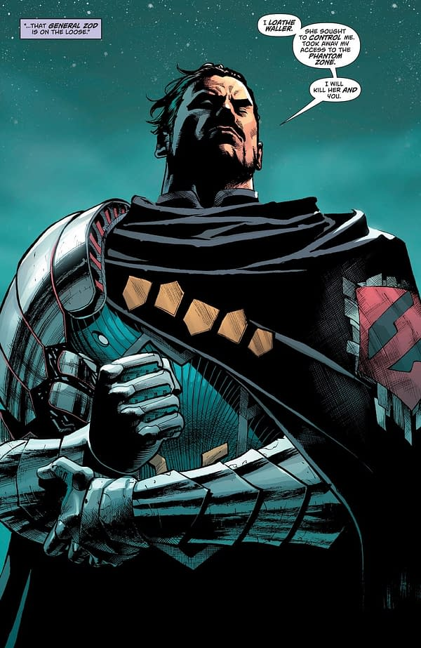 What Are DC Comics Planning for General Zod?