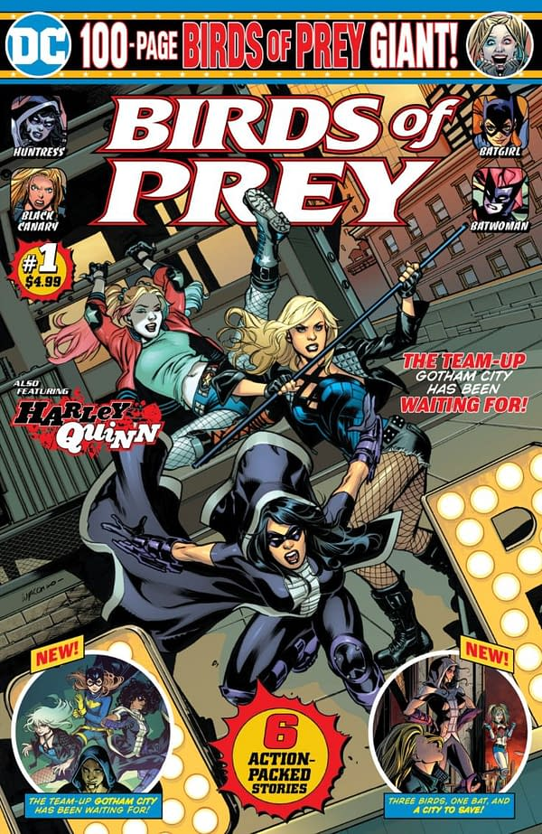 Gail Simone Makes A Giant Return To Birds Of Prey