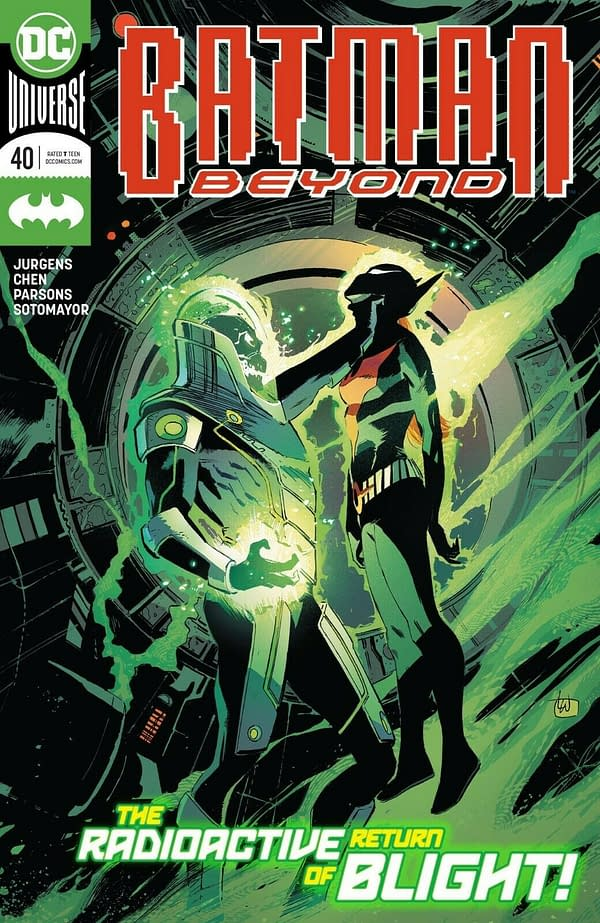 Batman Beyond 25 36 37 And Tomorrow S 40 Jump Over Batwoman Spoilers