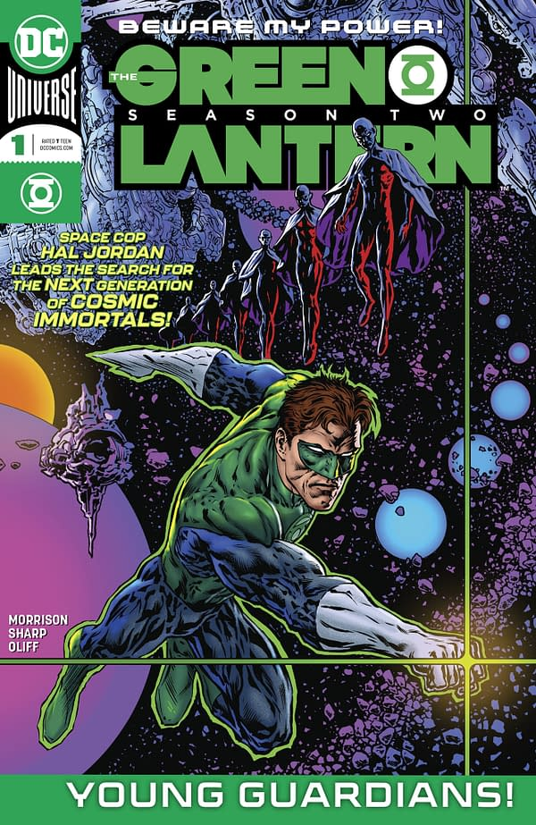 Grant Morrison and Liam Sharp's The Green Lantern Season 2 Drops From 12 to 8 Issues – Is This 5G?