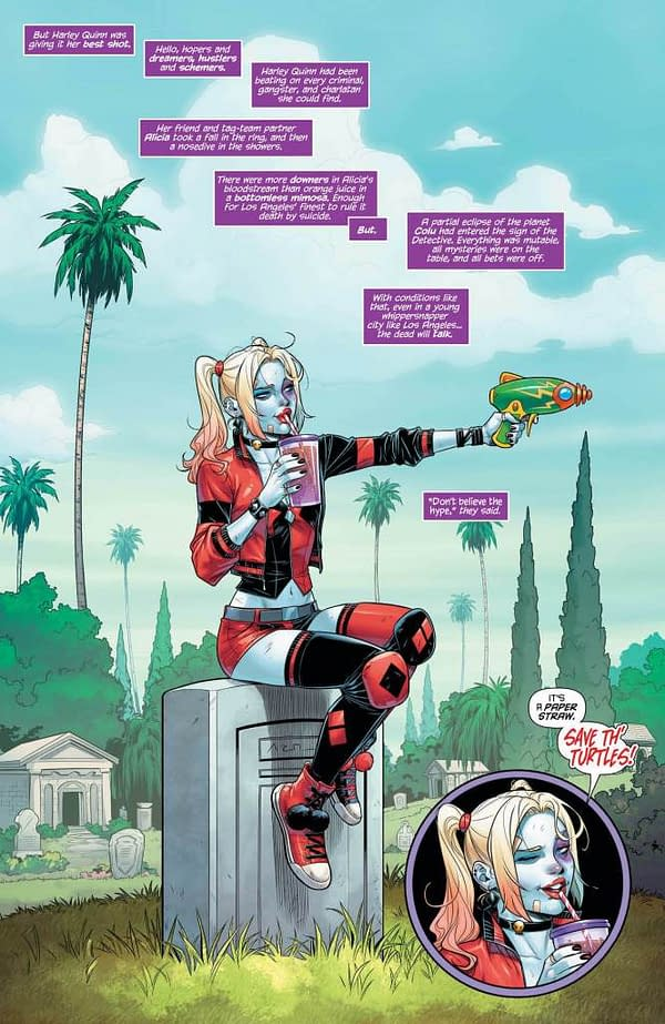 Harley Quinn #71 [Preview]