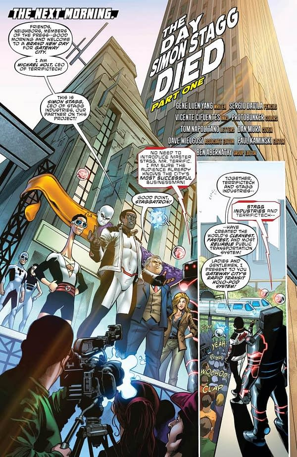 Terrifics #26 [Preview]