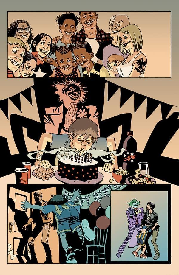 Punchline Origin Previewed in Joker 80th Anniversary, FOC'ed This Weekend.