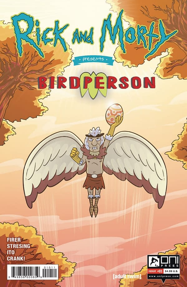 Rick & Morty Give Birdperson a Comic in Oni Press August 2020 Solicits.