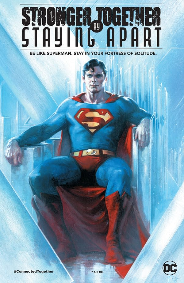 Superman's Advice to Comic Book Readers is a Tad Unrealistic.