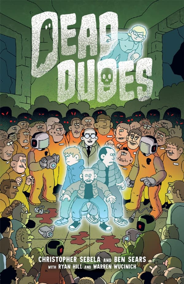 The cover of Dead Dudes published by Oni Press.