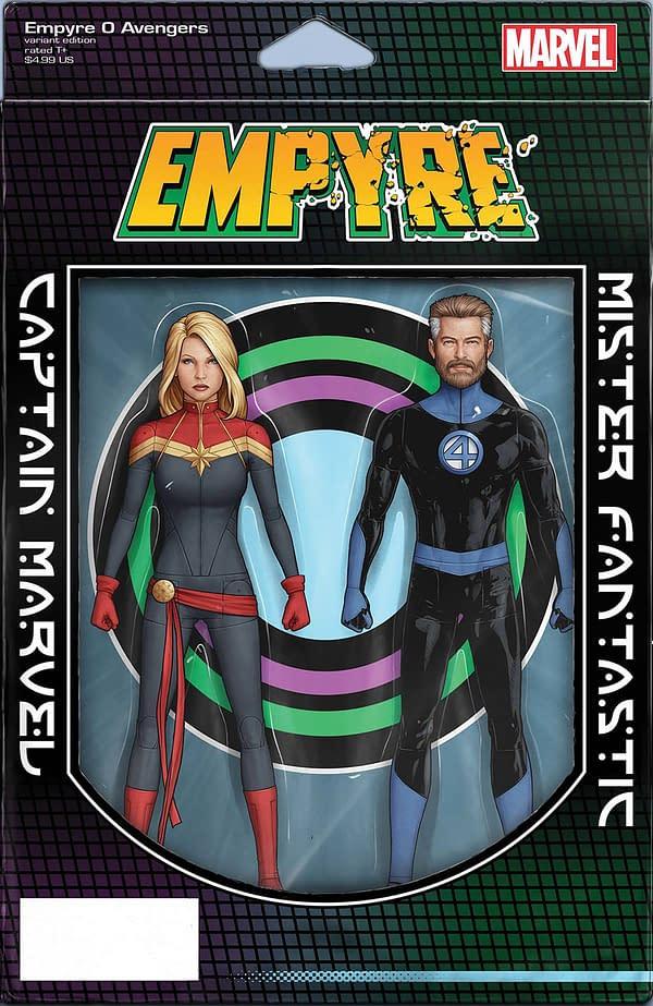 Empyre #0 Avengers John Christopher Tyler Variant Cover
