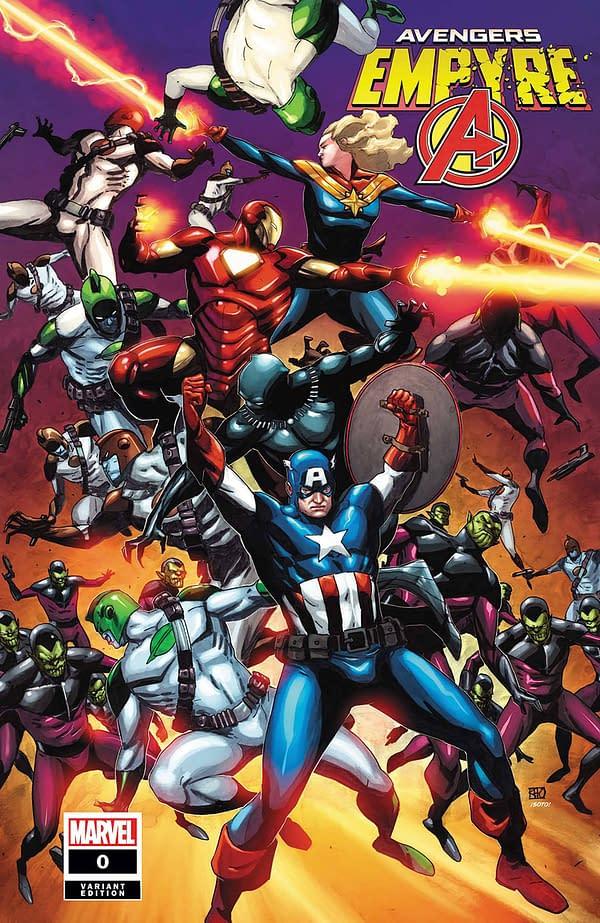 Empyre #0: Avengers Khoi Pham Variant Cover