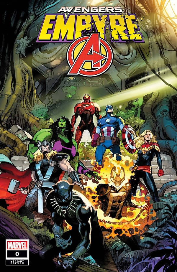 Empyre #0: Avengers Pepe Larraz Variant Cover