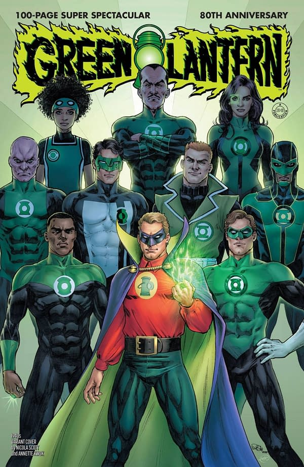 Green Lantern 80th Anniversary Special #1 1940's Variant Cover