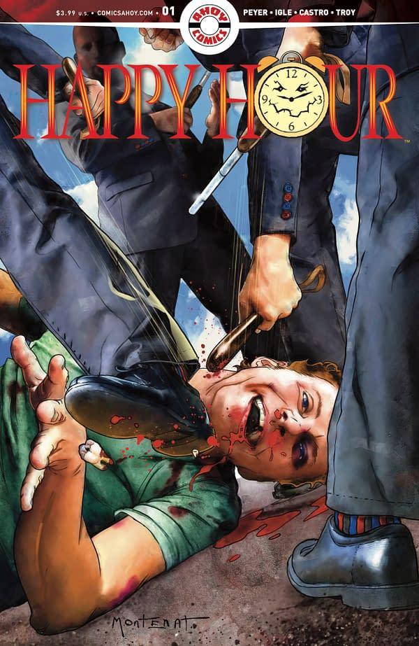 Happy Hour #1 cover. Credit: AHOY Comics.