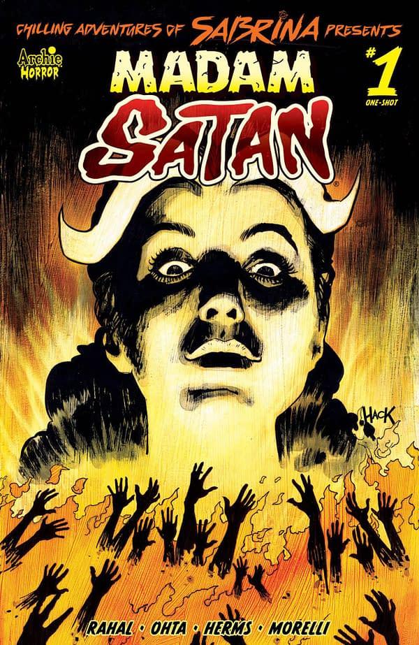 Madam Satan #1 cover. Credit: Archie Comics.