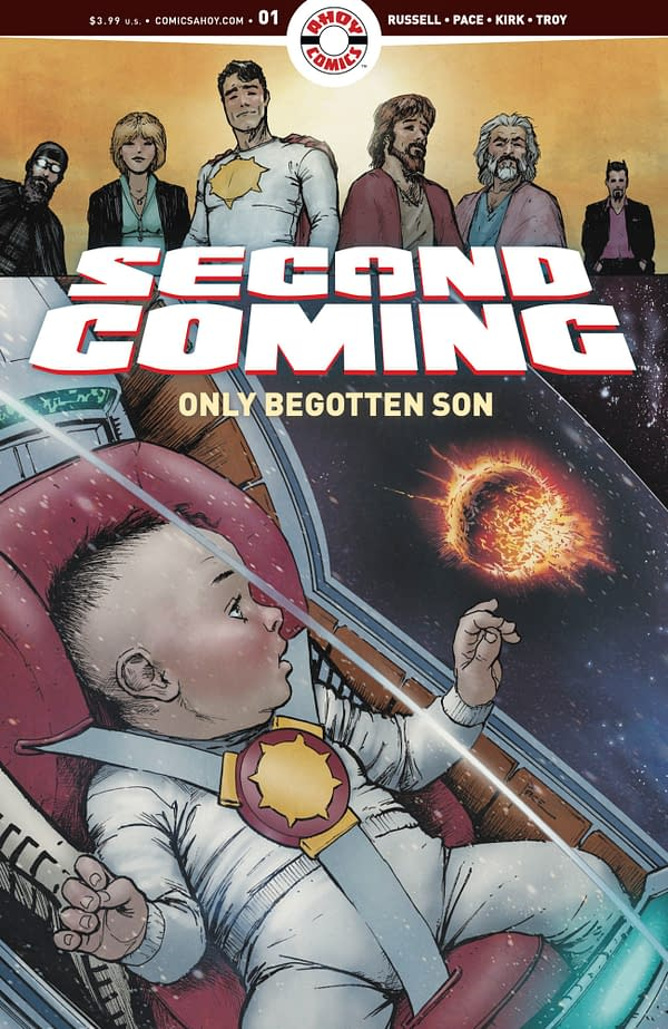 Second Coming: Only Begotten Son #1. Credit: AHOY Comics.
