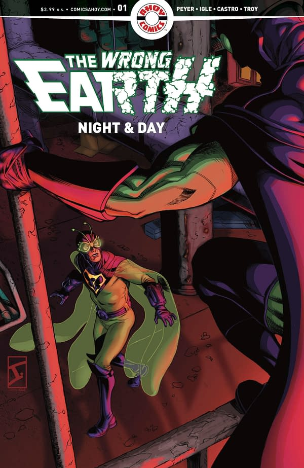 The Wrong Earth #1 cover. Credit: AHOY.
