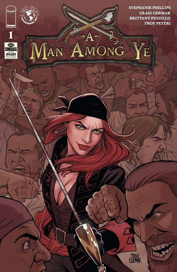 A Man Among Ye #1 cover. Credit: Top Cow