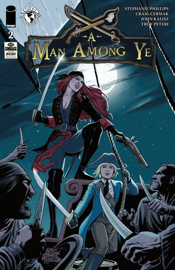 A Man Among Ye #2 cover. Credit: Top Cow