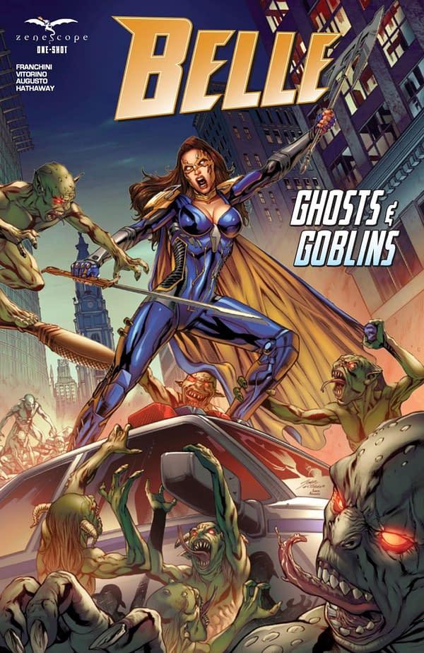 Belle: Ghosts & Goblins cover. Credit: Zenescope