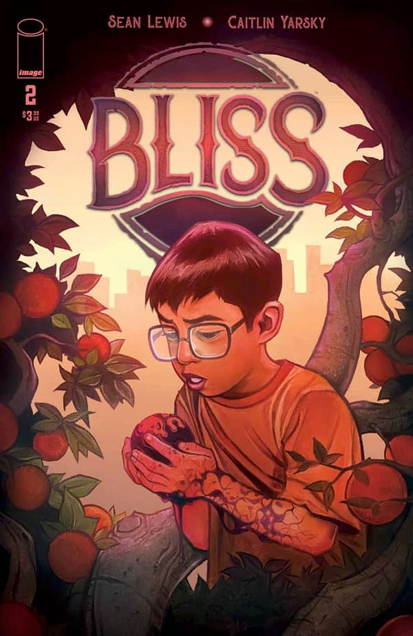 Caitlin Yarsky's cover for Bliss #2. Credit: Image Comics