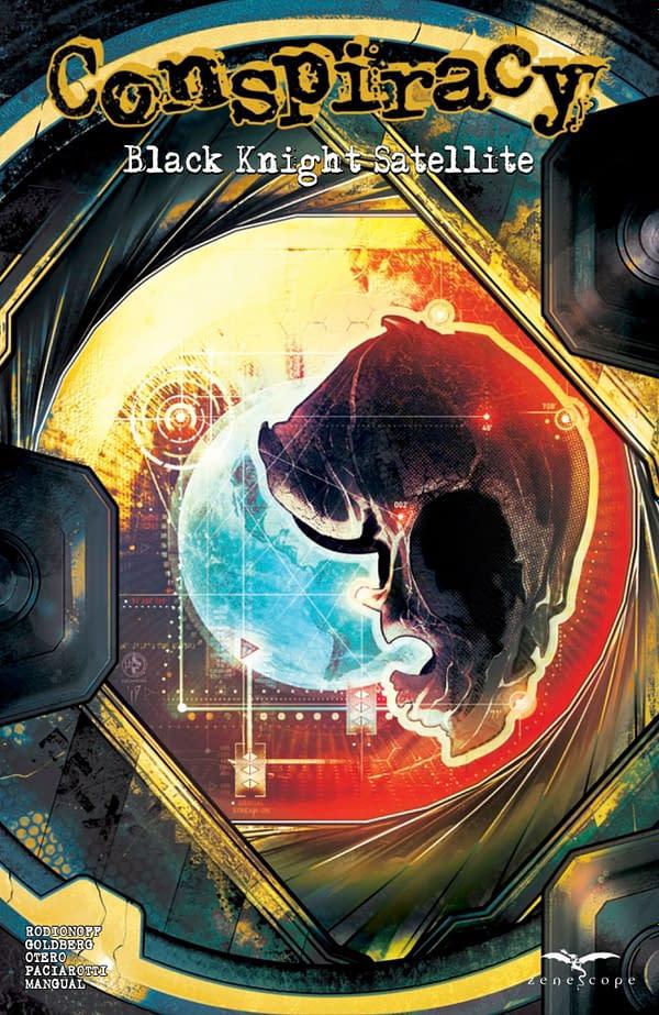 Conspiracy: Black Knight Satellite cover. Credit: Zenescope