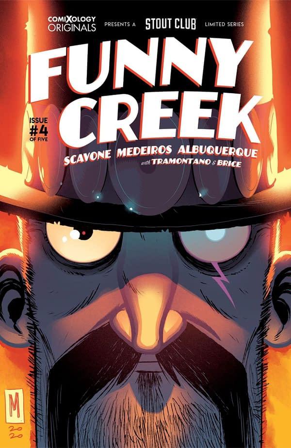 Rafael Scavone writes Funny Creek #4. Credit: ComiXology Originals
