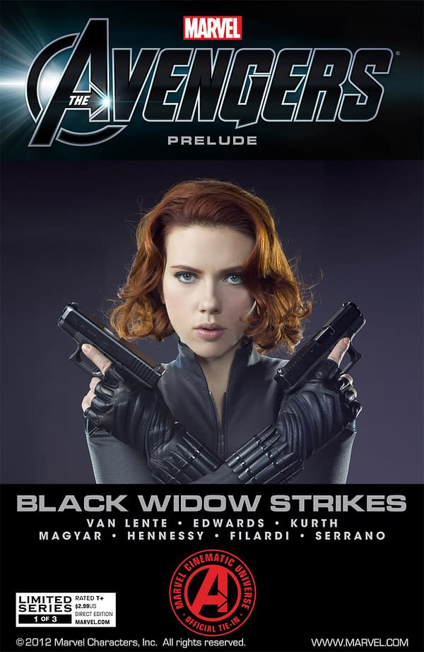 The Avengers Prelude Black Widow Strikes #1 Cover