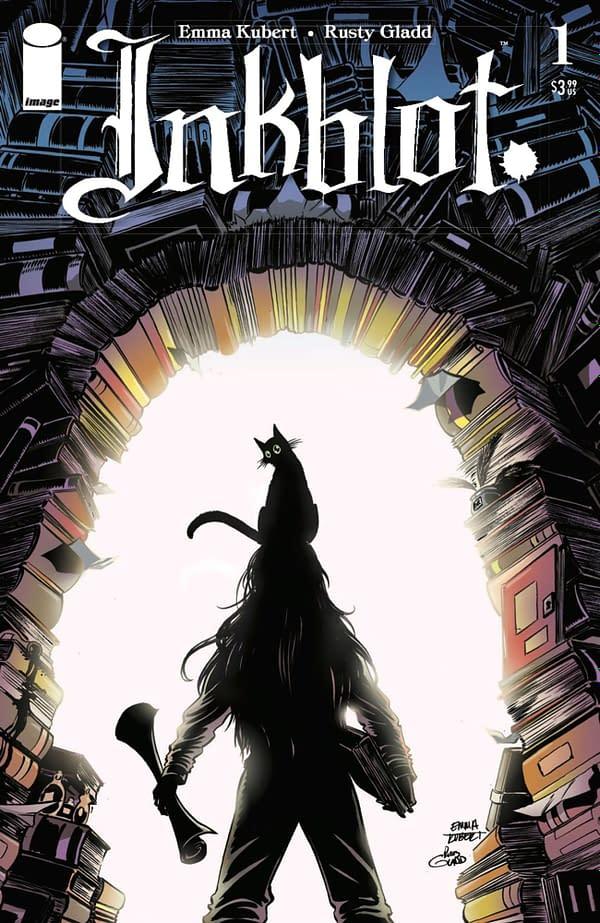 Inkblot #1 by Emma Kubert and Rusty Gladd. Credit: Image Comics
