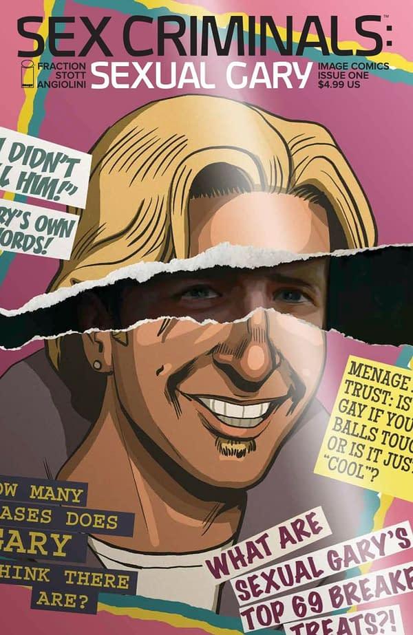 Sex Criminals: Sexual Gary #1 cover. Credit: Image Comics