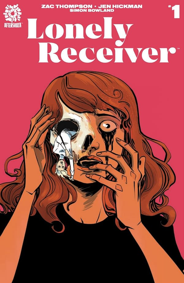 Zac Thompson and Jen Hickman are the creators of Lonely Receiver #1. Credit: Aftershock