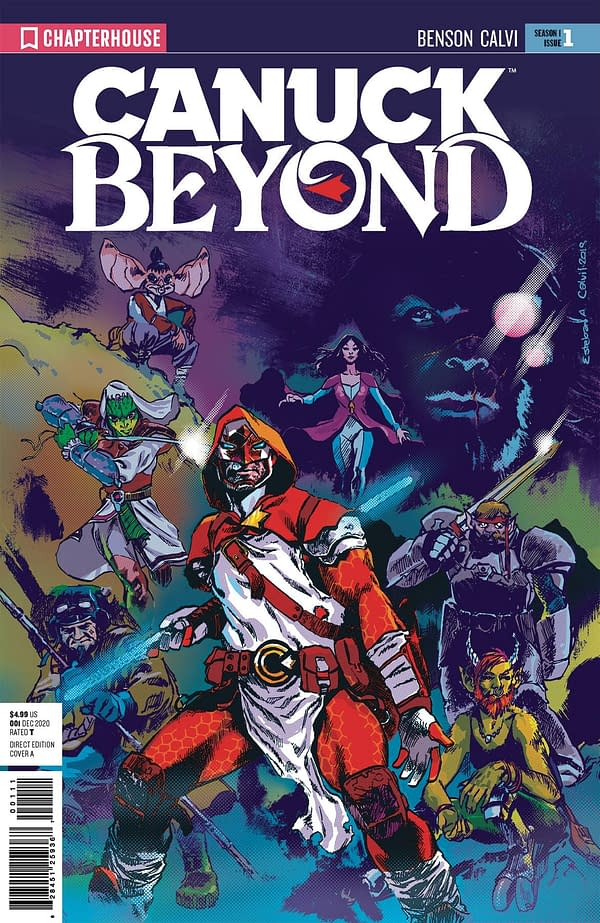 Canuck Beyond #1 Chapterhouse Comics December 2020 Soliicts
