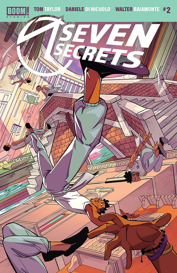 Seven Secrets #2 Review: Very, Very Engaging
